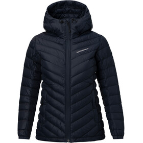 Peak Performance W's Frost Down Hooded Jacket Salute Blue
